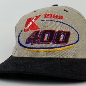 Vintage 1999 KMART 400 Snapback Cap Hat NASCAR